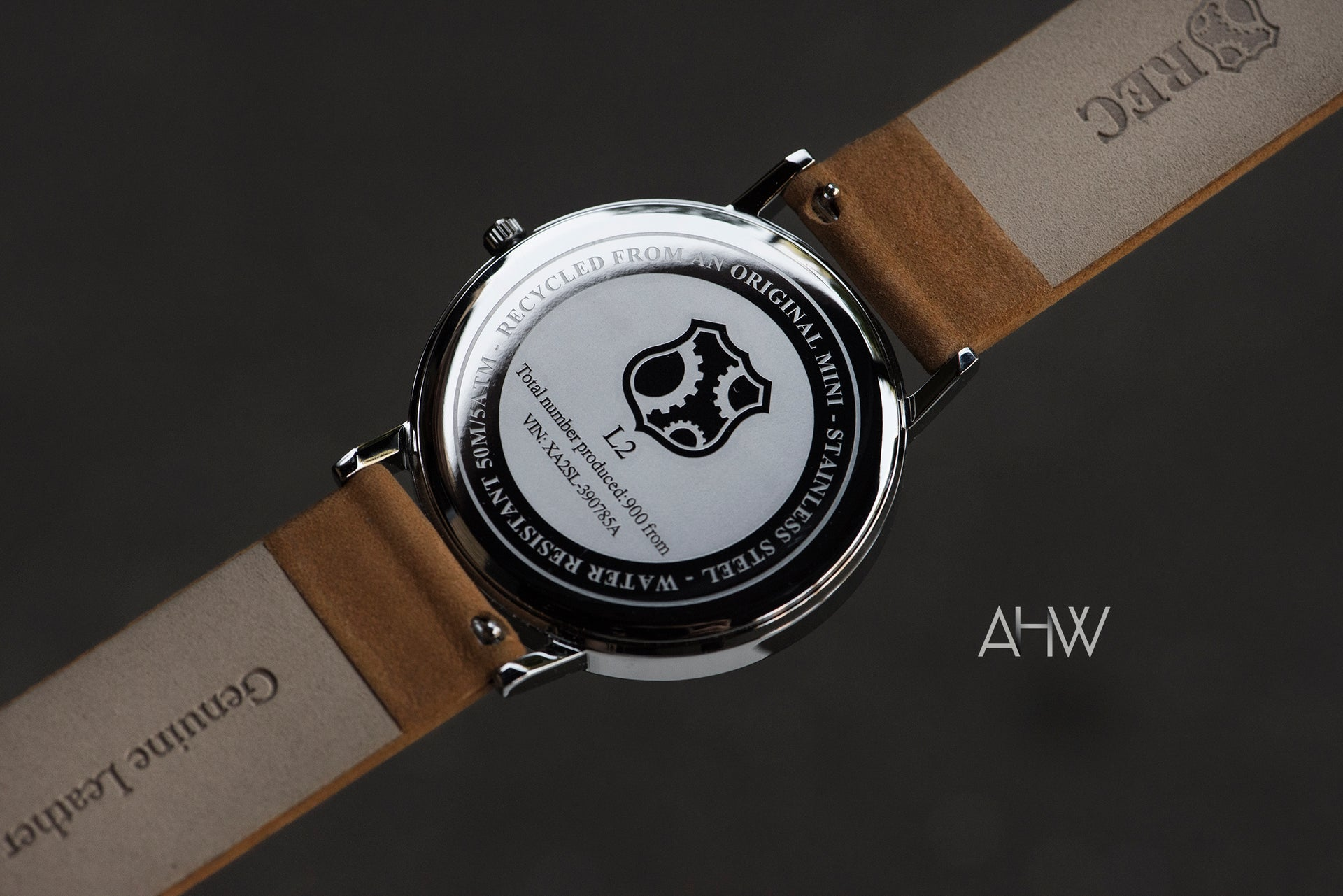 'Minimalist 1' - Recycled Mini Cooper Watch