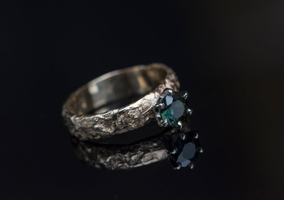 Unearthed - Green Sapphire - AHW Studio