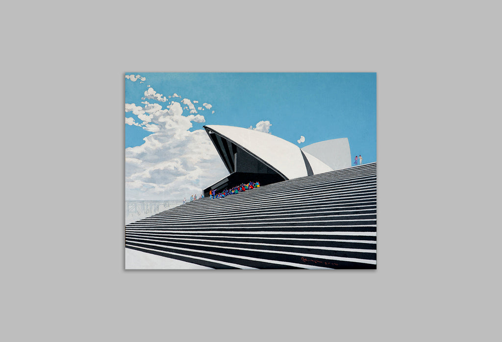 'Bennelong Choir' - Canvas Art Print