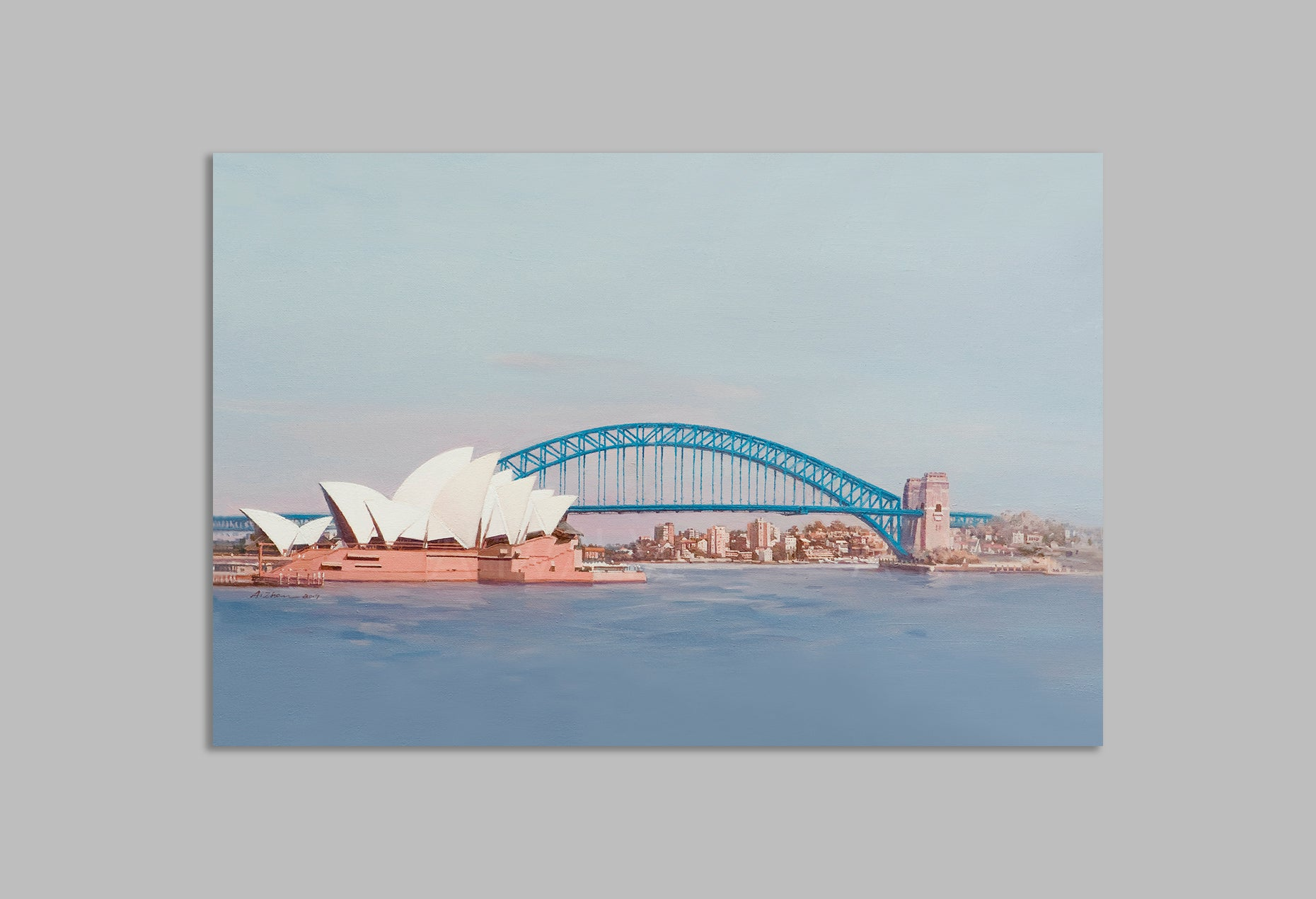 'Morning Sydney' - Canvas Art Print