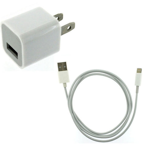 Original OEM Iphone 5/5c/5s/6/6+/6s/SE Charger set MD818ZM/A & A1385