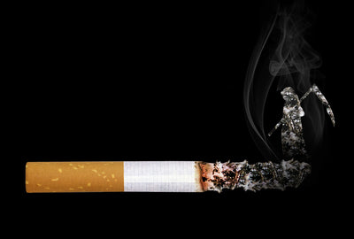 HUNT PUSHES MILLIONS BACK TO SMOKING