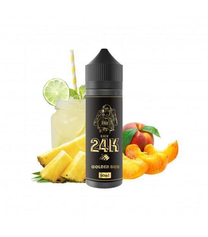 24K - GOLDEN BOY | 50ML (SHORTFILLS) - 24K - VAPOURHOLICS.COM.AU