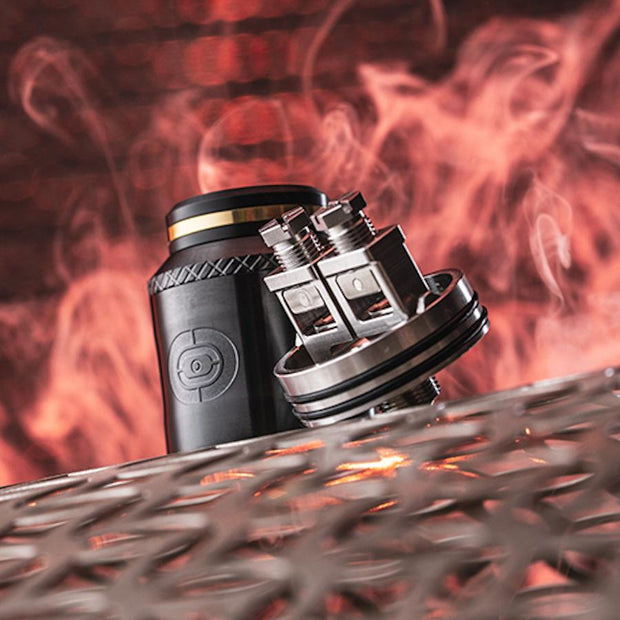 OHMLAND PRE-BUILT-OCCULA RDA - BLACK (by Twisted Messes & Augvape)