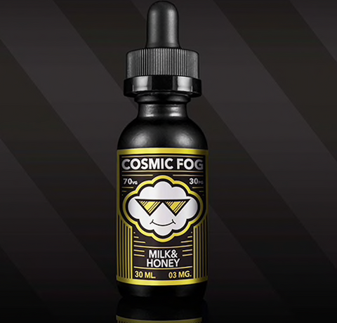 COSMIC FOG - MILK AND HONEY | 60ML - COSMIC FOG - VAPOURHOLICS.COM.AU