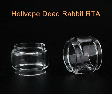 HELLVAPE DEAD RABBIT RTA REPLACEMENT GLASS 4.5ML - HELLVAPE - VAPOURHOLICS.COM.AU