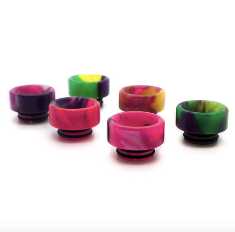 Asmodus Custom Resin DINKY Wide Bore Drip Tip (For TFV8, BIG BABY, GOON, KENNEDY) - ASMODUS - VAPOURHOLICS.COM.AU