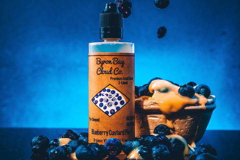 BLUEBERRY CUSTARD PIE - BYRON BAY CLOUD CO. - VAPOURHOLICS.COM.AU
