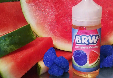 BRW - BLUE RASPBERRY WATERMELON | 100ML - ALLOY BLENDS - VAPOURHOLICS.COM.AU