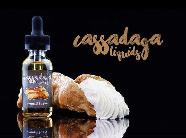 CANNOLI BE ONE | 60ML - CASSADAGA LIQUIDS - VAPOURHOLICS.COM.AU