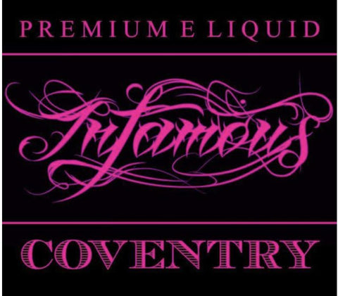 Coventry | 60ML - INFAMOUS - VAPOURHOLICS.COM.AU