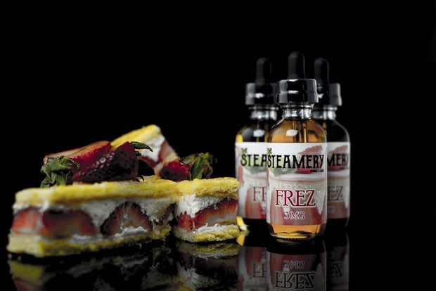 FREZ | 60ML - THE STEAMERY - VAPOURHOLICS.COM.AU