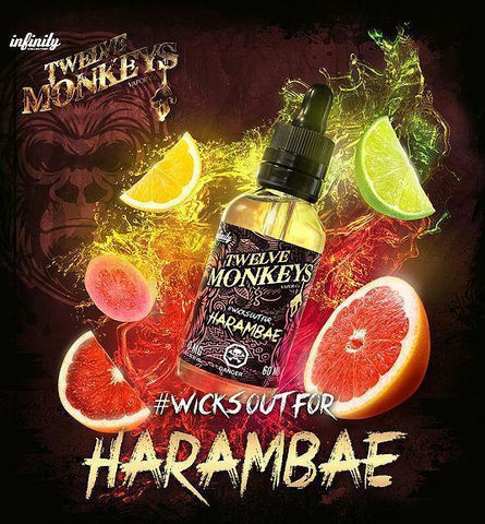 HARAMBAE | 60ML - 12 MONKEYS VAPOR CO. - VAPOURHOLICS.COM.AU