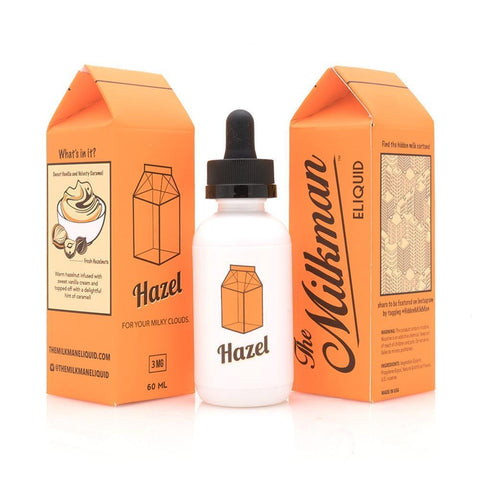 HAZEL | 60ML - THE MILKMAN E-LIQUID - VAPOURHOLICS.COM.AU