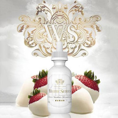 KILO WHITE SERIES - STRAWBERRY WHITE CHOCOLATE | 60ML - KILO E-LIQUID - VAPOURHOLICS.COM.AU