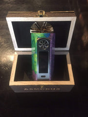 MINIKIN V2 180W KODAMA VERSION STABLIZED WOOD - GUN METAL EDITIONS VAPOURHOLICS