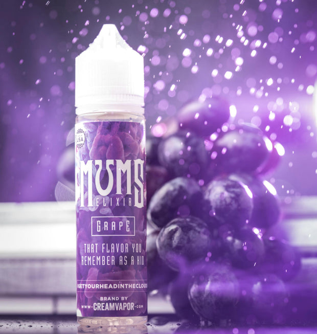 MUMS ELIXER - GRAPE | 60ML - Vapourholics