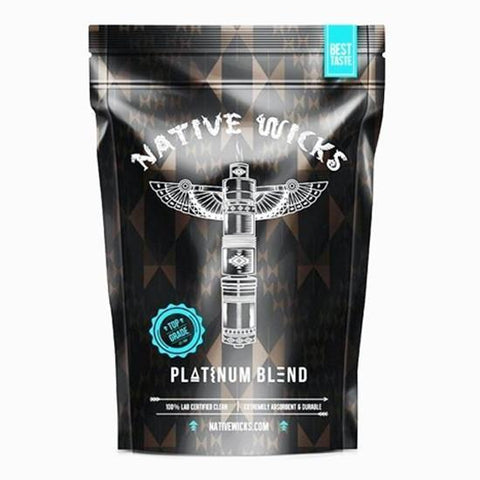 Native Wicks Platinum Blend Cotton Pack VAPOURHOLICS