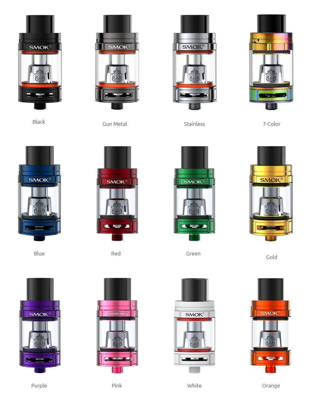 "SMOK TFV8 ""BIG BABY"" TANK 5ML (VARIOUS COLOURS) - Vapourholics"