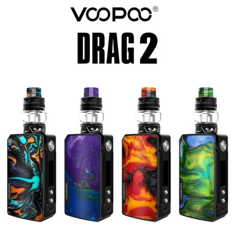 VOOPOO DRAG 2 KIT 177W 5ML VAPOURHOLICS