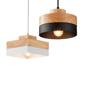 SENJA - Wood and Aluminum Nordic Lamp - Premium Lamp by ACEROIX™