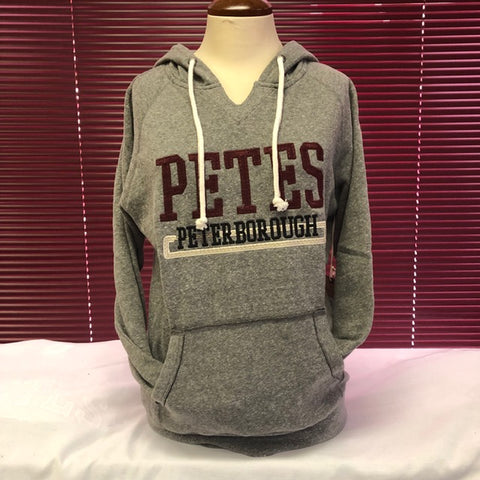 Campus Crew Ladies Charcoal Peterborough Hoodie