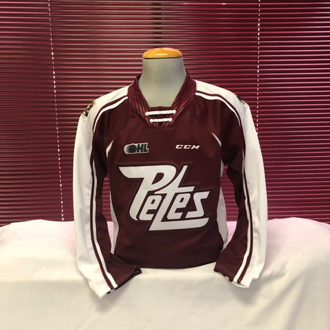 Youth CCM Quicklite Maroon Jersey
