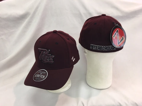 Solid Maroon Flex Hat