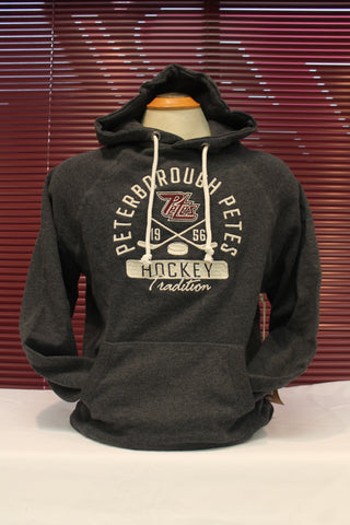Campus Crew Traditional Charcoal Hoodie