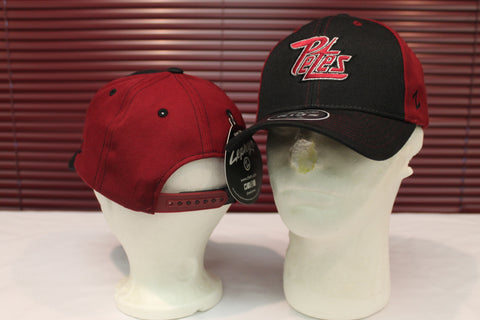 Kids maroon and black cap