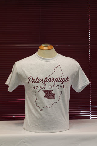 Home of the Petes t-shirt