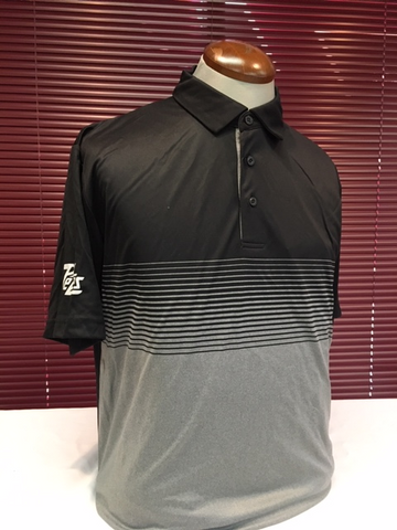 Faded Stripe Golf Shirt