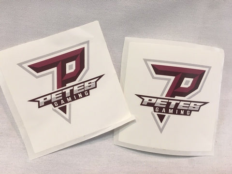 Petes Gaming Stickers
