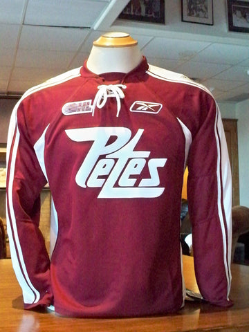 Men's maroon jersey