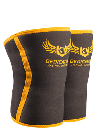 Knee Sleeve - Black/Yellow
