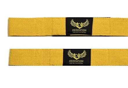 Lifting Straps Yellow
