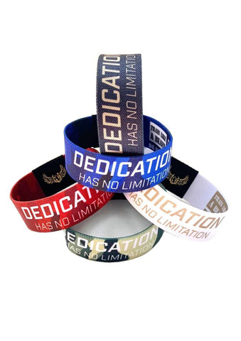 DEDICATION WRISTBAND