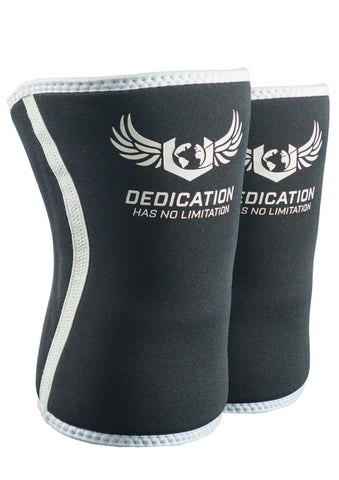 Knee Sleeve Black /White