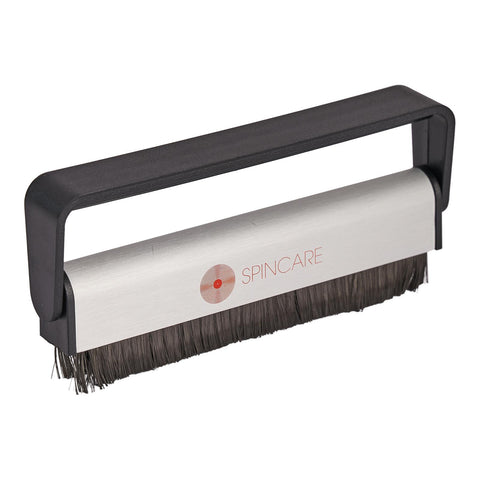 SPINCARE Professional Carbon Fibre Record Cleaning Brush / Anti Static Cleaner For Vinyl LPs