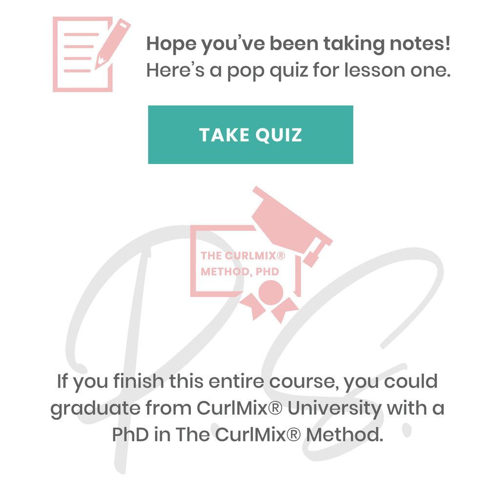 Take the CurlMix University Quiz