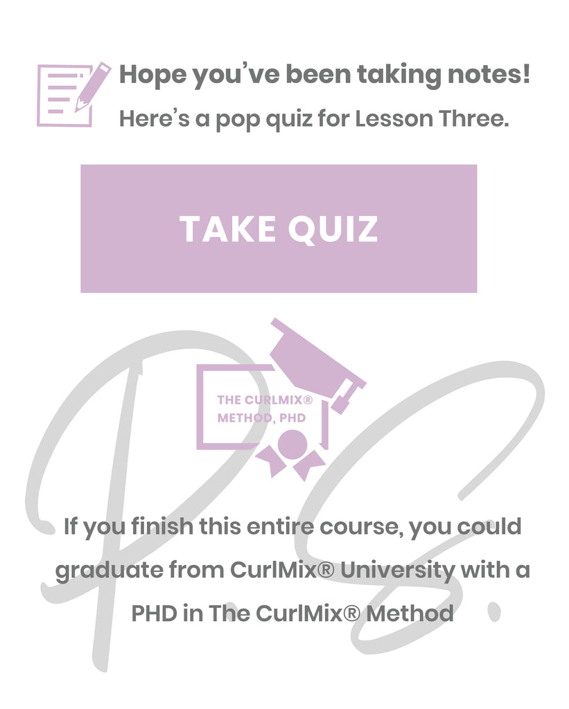CurlMix Lesson 3 Quiz