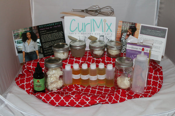 CurlMix Box 2 and 3 Holiday Shoot
