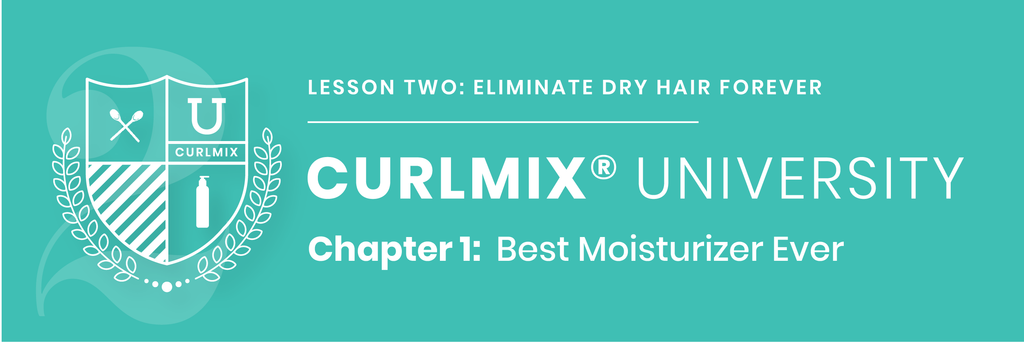 CurlMix University - Lesson 2 - Chapter 1 - Best Moisturizer Ever
