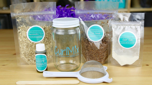 CurlMix Flaxseed Gel Box Ingredients