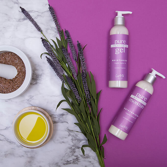 Lavender Wash + Go Set with Organic Jojoba Oil for