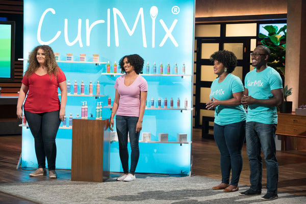 CurlMix Founders Kim and Tim Lewis on SharkTank