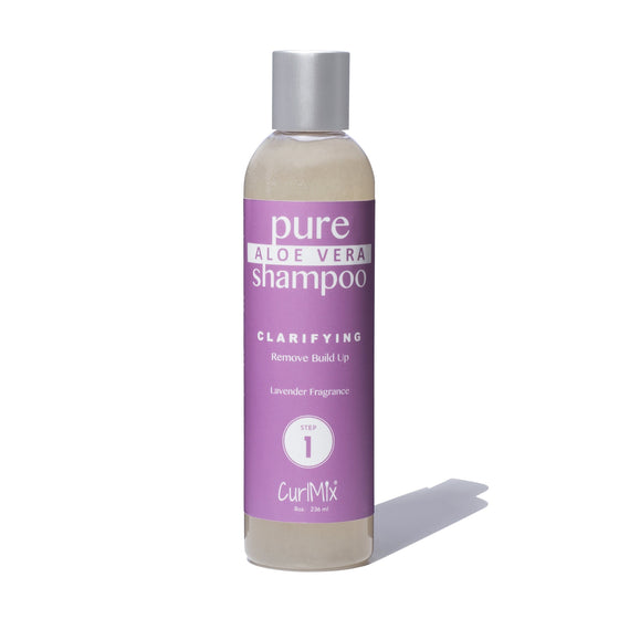 Pure Aloe Vera Shampoo with Lavender Fragrance - CurlMix