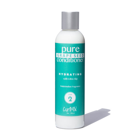Pure Grape Seed Conditioner with Ultra Slip and Watermelon Fragrance - CurlMix