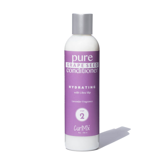 Pure Grape Seed Conditioner with Ultra Slip and Lavender Fragrance - CurlMix