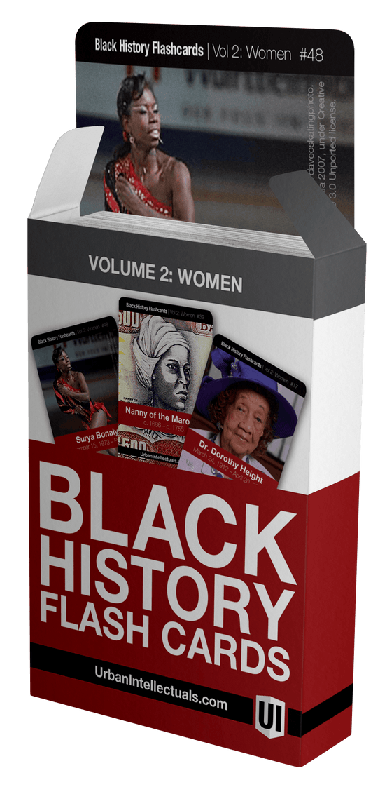 Urban Intellectuals Black History Flashcards